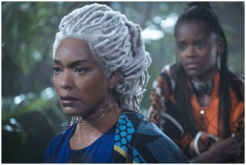 Angela Bassett dreadlocks Black Panther film