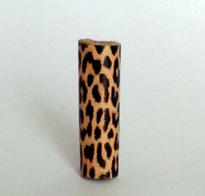 Leather Loc bead animal print