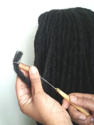 Loc Bead Threader tutorial step 2