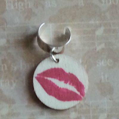 adjustable hair ring lips