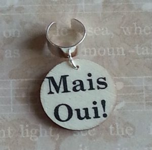 Mais Oui Hair Ring Wood 2