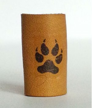 Black Panther Paws loc bead