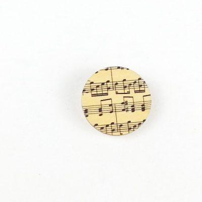 Circle brooch music