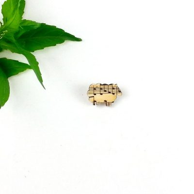 sheep music badge